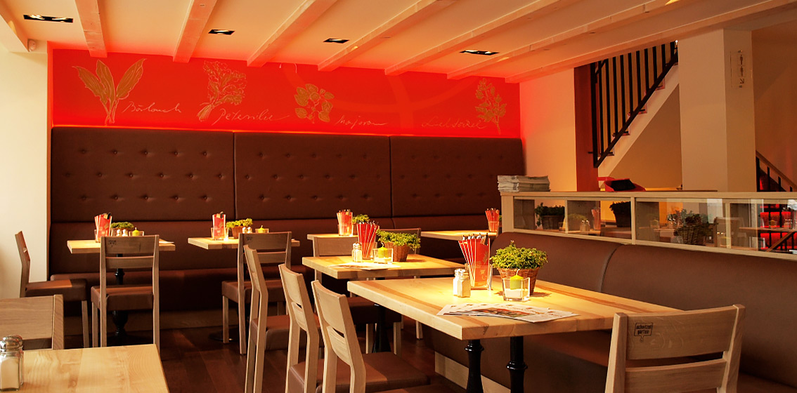 hortenbach licht lichtplanung lieferung restaurant schnitzelgarten dresden. Black Bedroom Furniture Sets. Home Design Ideas